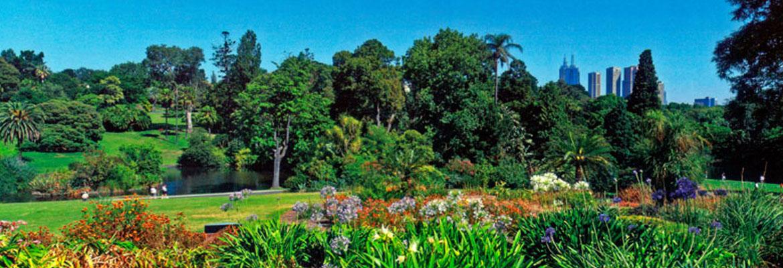 Royal Botanic Gardens , Melbourne   Halal Trip