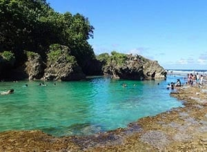Magpupungko Beach and Tidal Pools