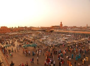The Medina of Marrakech