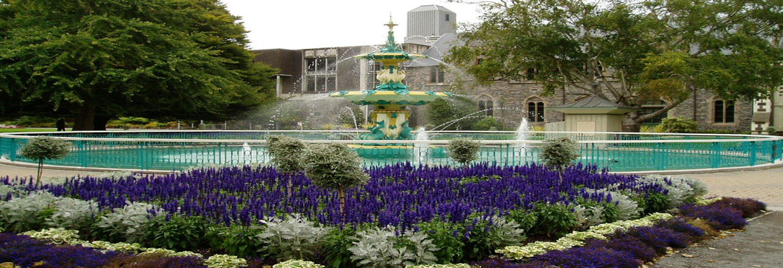 christchurch botanic gardens christchurch halal trip