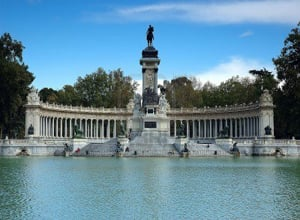 The Buen Retiro Park