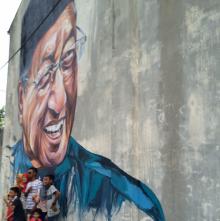 Tun Mahathir's mural