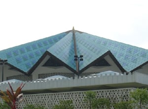 Masjid Negara, the national mosque of Malaysia