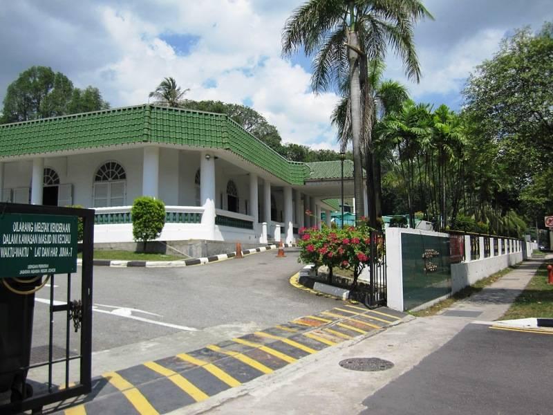 Masjid Temenggong Daeng Ibrahim (State Of Johor Mosque)