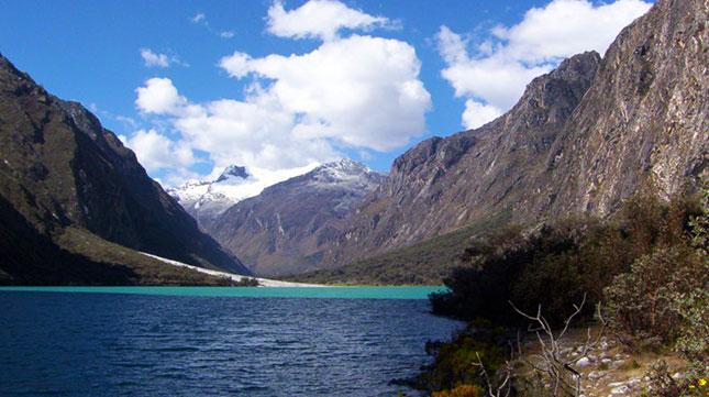 Cordillera Blanca of Peru