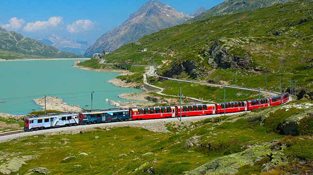 The Bernina Express - Switzerland