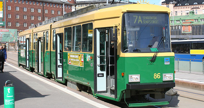 Exploring Helsinki by Tram