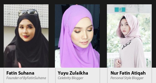 Follow our 3 influential Hijabis on their HalalTrip to Indonesia