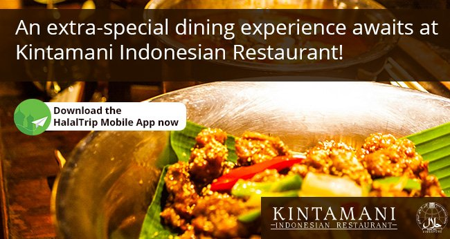 Exciting News for Diners at Singapore's Kintamani Indonesian Restaurant!