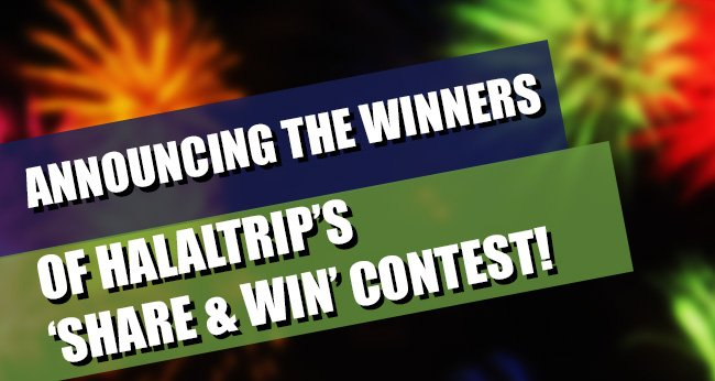 Announcing the Winners of HalalTrip's Indonesia Share & Win Contest!