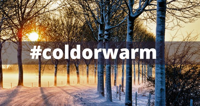#coldorwarm - The My HalalTrip Friday Hashtag for this Week