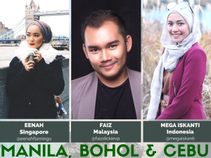 Follow Mega, Faiz & Eenah's HalalTrip to Philippines as they explore Manila, Bohol & Cebu!