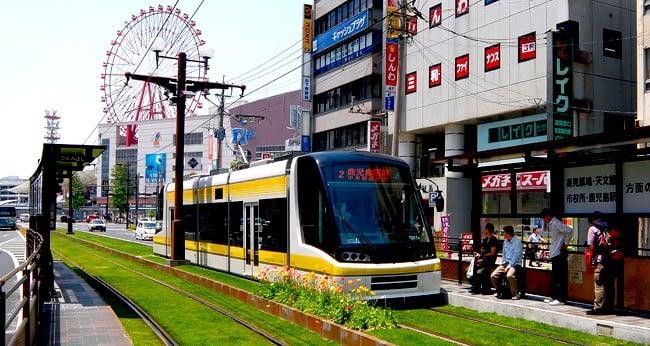 Getting To and Around Kagoshima, Japan