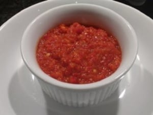 Healthy Homemade Chilli Sauce