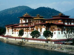 The Vibrant Colors of the Punakha Dzong - The Palace of Happiness