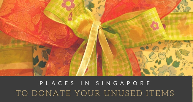 10 Places in Singapore to Donate your Unused Items To