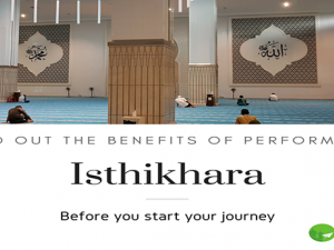 Performing Istikharah before travel