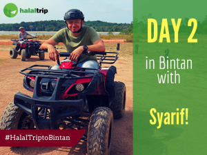 Day 2 in Bintan with Syarif!