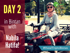 Day 2 in Bintan with Nabila Hatifa!