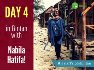 Day 4 in Bintan with Nabila Hatifa!