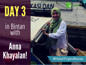 Day 3 in Bintan with Anna Khayalan!