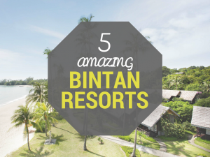 5 Amazing Resorts to Stay at on Your Next Trip to Bintan