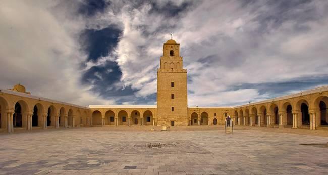 Mosque of Uqba Masjid Kairouan Tunisia