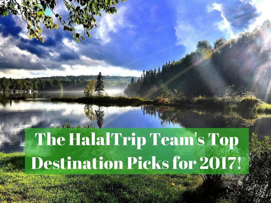 HalalTrip's Top Destination Picks for 2017!
