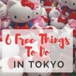 Small 6 Free Things You Can Do In Tokyo