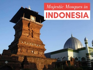 5 of Indonesia's Most Majestic Mosques