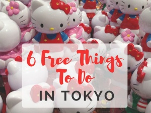 6 Free Things You Can Do In Tokyo