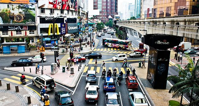 Bukit Bintang Chinatown Kuala Lumpur KL Malaysia