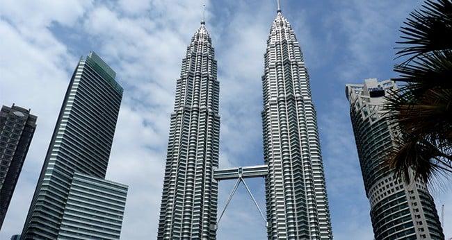 Petronas Twin Tower KLCC Kuala Lumpur Malaysia
