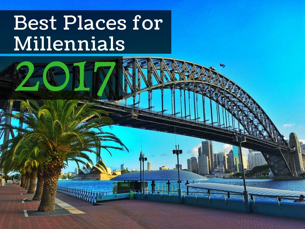 Best 10 Places for Millennials in 2017