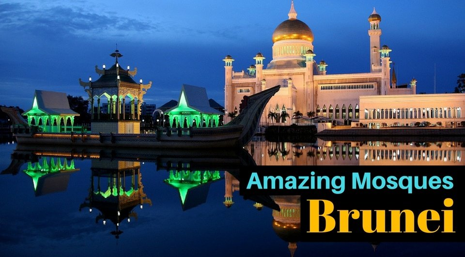 5 Amazing Mosques in Brunei to Check Out