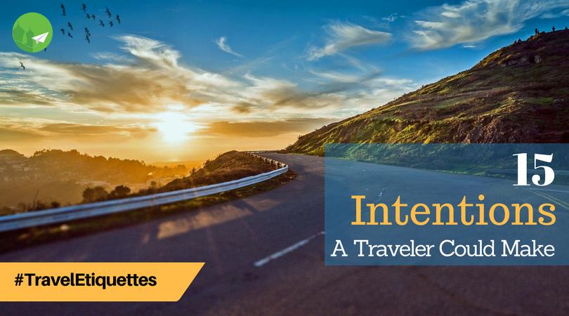 Making Intention (Niyyat) for Travel