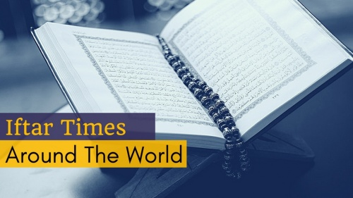 Iftar Times Around the World - 2017