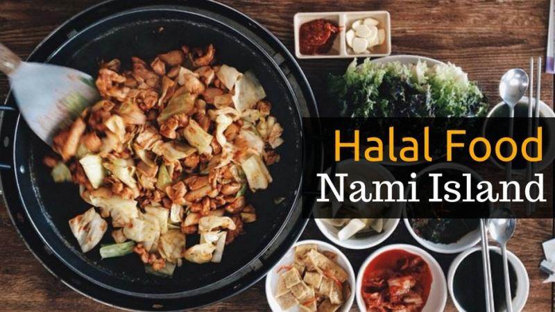 Finding halal food in nami island namiseom south korea forumfinder Choice Image