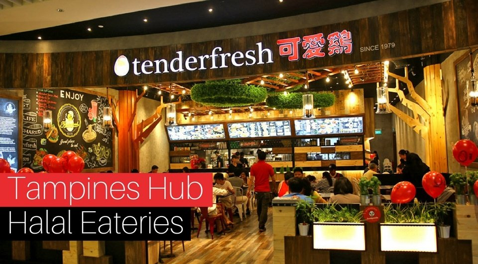 5 Halal Eateries at Our Tampines Hub