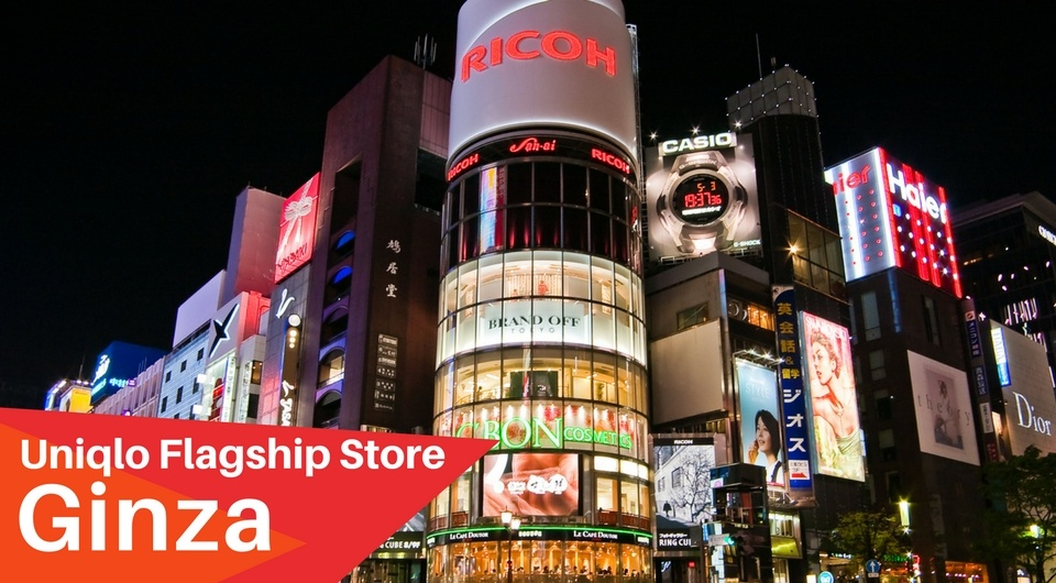 The Largest Uniqlo Store In The World!