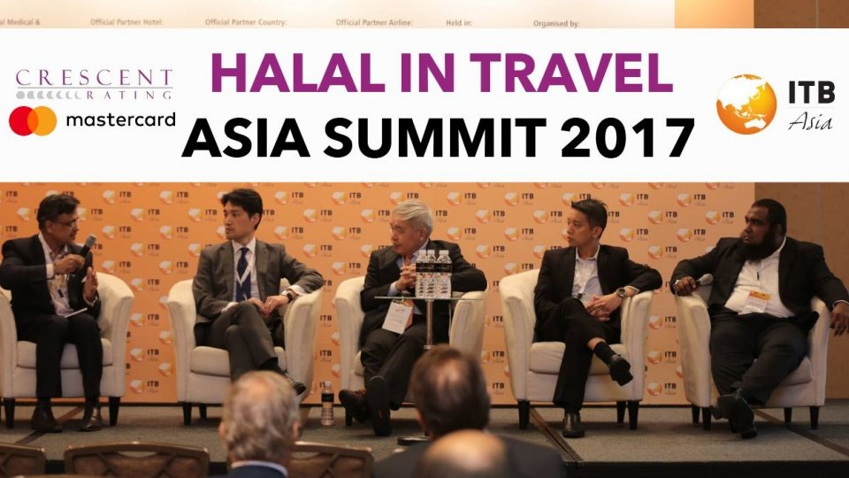 2nd Halal in Travel Asia Summit Conference at ITB Asia 2017