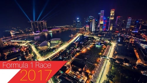 Enjoy a Halal-Friendly Experience at Singapore F1 Night Race 2017!
