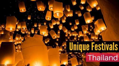 3 Must-Experience Festivals in Thailand