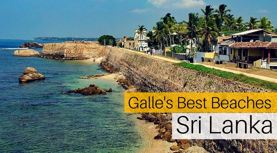 3 of Galle's Best Beaches, Sri Lanka