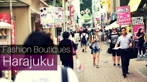 4 Trendy Shopping Avenues in Harajuku