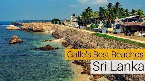 3 of Galle's Best Beaches, Sri Lanka