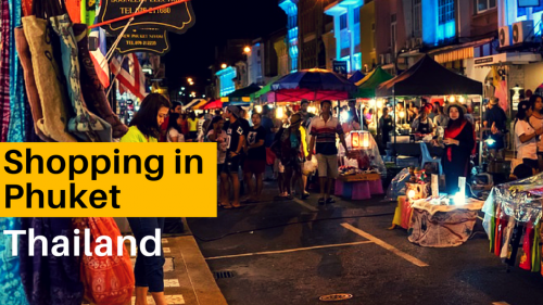 A Muslim Tourist's Guide to Shopping in Phuket