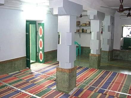 The old Jumma Masjid of Kilakarai Palaiya Jumma Palli Tamil Nadu