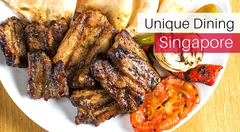 4 Unique Dining Experiences in Singapore