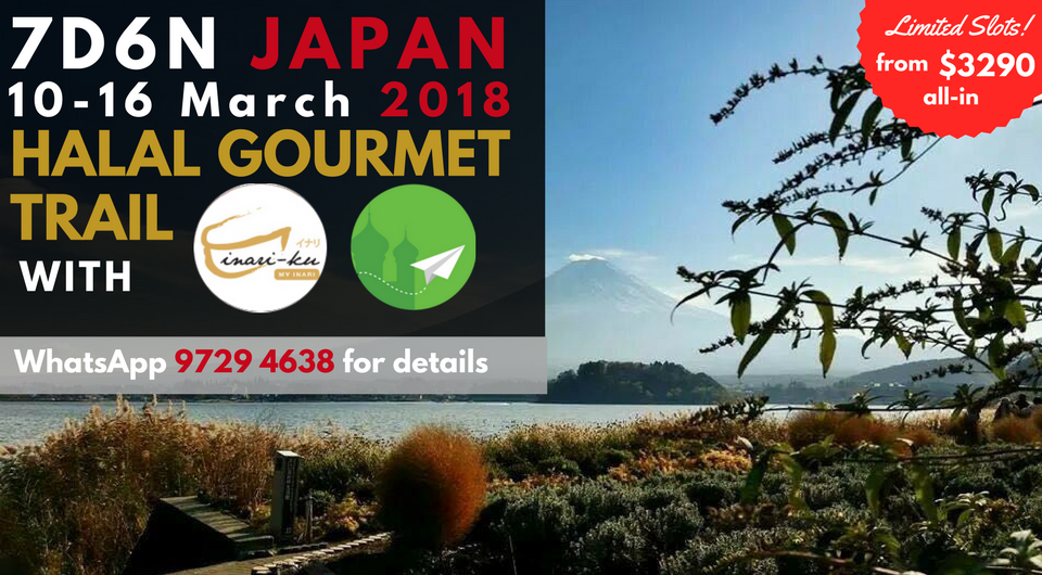 The Ultimate Japanese Halal Gourmet Trail With Inari-ku